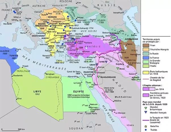 What Was The Sykes Picot Agreement In Laymans Terms Quora
