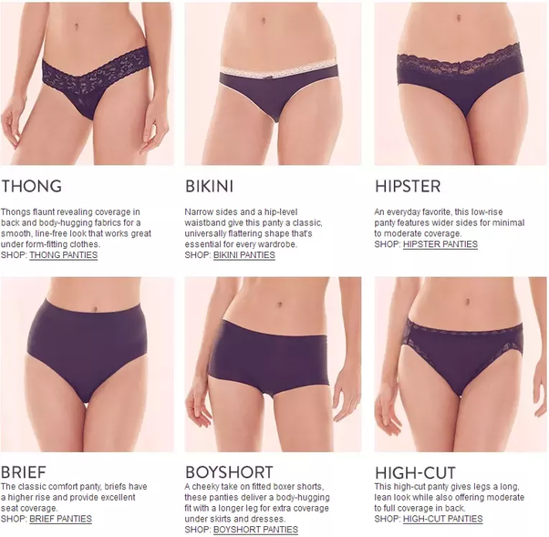 37c2786f3 What are the major points which makes a panty more comfortable  - Quora
