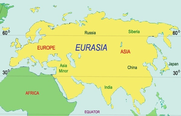 Why is Europe considered a separate continent from Asia?   Quora