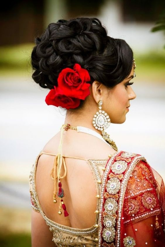 What Are Some Indian Wedding Hairstyles For Brides Quora