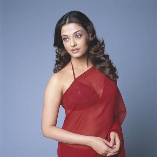 Aishwarya Rai in red saree from Mistress of Spices.