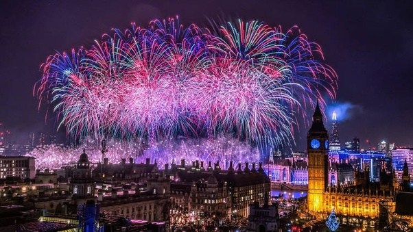 what are some good places in london to celebrate new year s eve