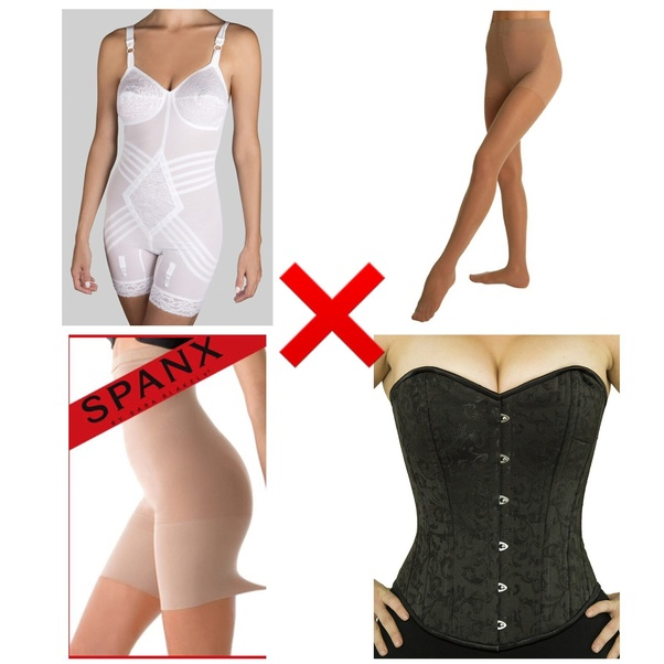 Assuming you are not planning on wearing a skirt/dress then you are, IMHO,  limited to three girdle types, they are…