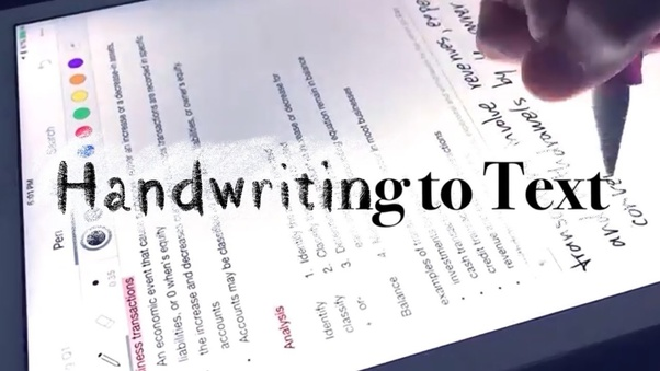 How to convert a handwritten PDF to text - Quora