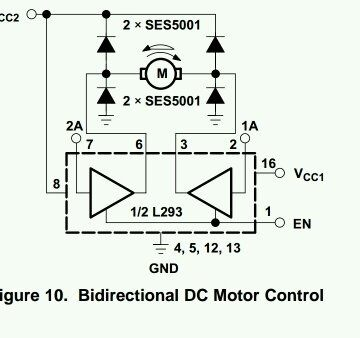 What Is The Meaning Of Enable Pin Motor Driver Ic Quora