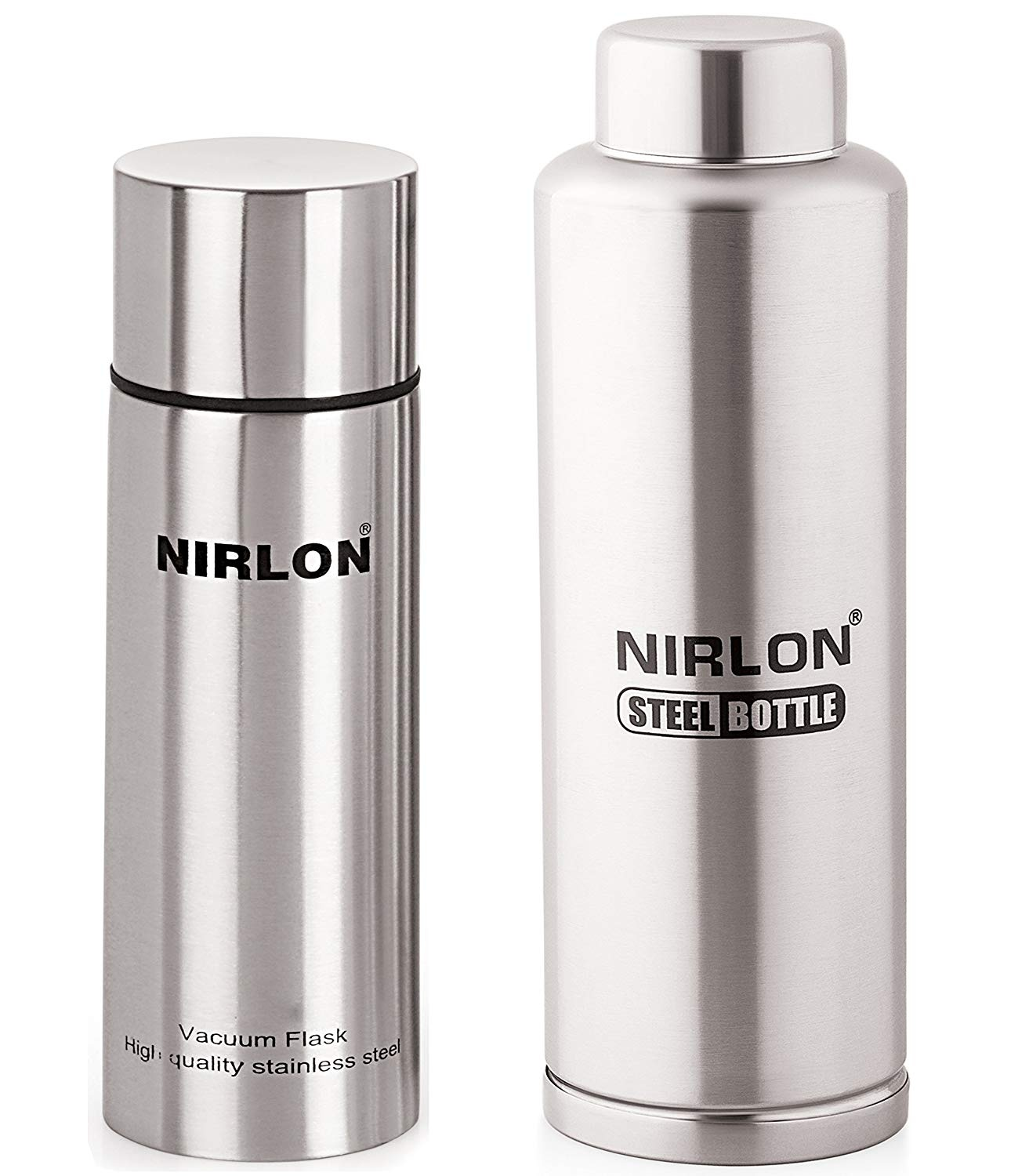 c19b9220a36 High quality Nirlon stainless steel water bottle - whether you are outside  playing a sport