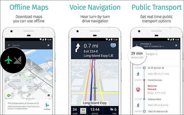 Which is the best free offline GPS navigation app on Android