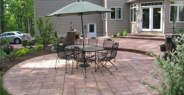 But The Term Patio Usually Refers To A Lounging Area At The Rear Of The  House, Which May Be Fully Covered, Partially Covered, Or Not Covered At All.