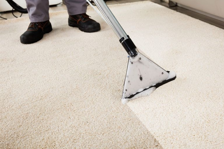 clean carpets using household products