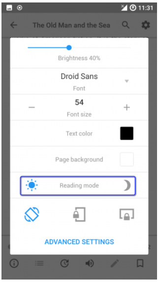 Is there a pdf reader with night mode? - Quora