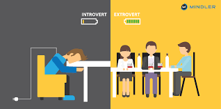 extroverts dating introvertti