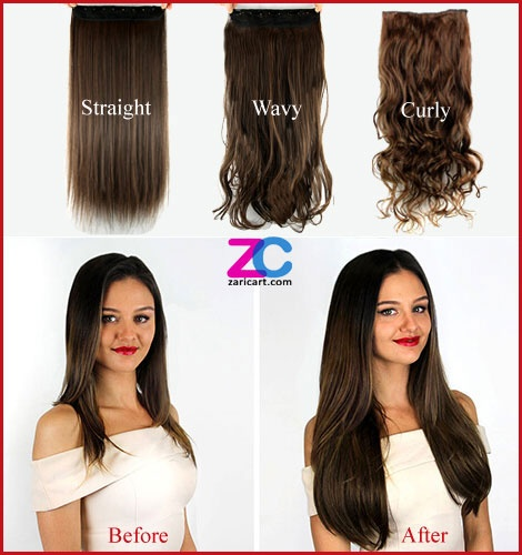 Hair extensions are being popular products in India 77307db42cc8