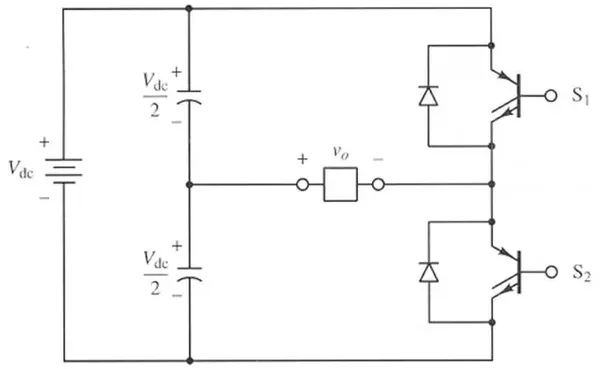 which type of transistor converts dc to ac