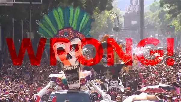 There Is Not A Traditional Clothing For The Day Of Dead And Its Festival Either If You Saw Parade With Dressed Up Dancers