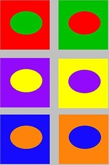 Due To This Striking Color Clash The Term Opposite Colors Is Often Considered More Appropriate Than Complementary Colorsexample
