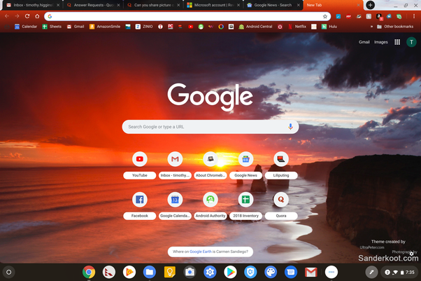 Can you share picture of your current Google Chrome and