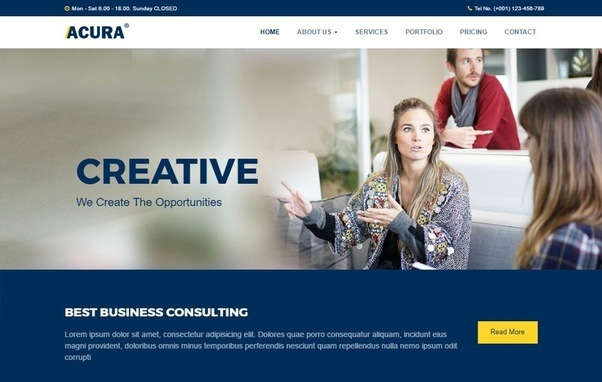 What are the best web templates to buy quora responsive bootstrap html web templates wajeb Gallery