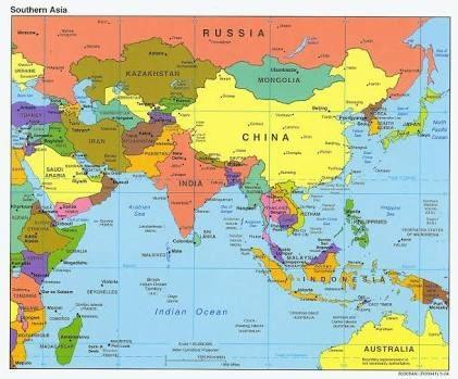 How to easily remember the map of world quora asia gumiabroncs Gallery