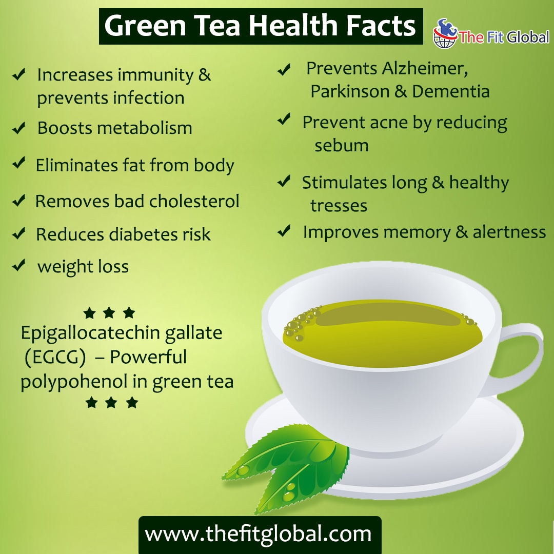 benefits of green tea for the body - health benefits