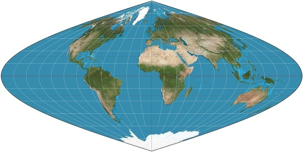 Where can we find a real map that shows accurate sizes of countries you can use maps with any of these projection techniques to check accurate size of countries gumiabroncs Image collections