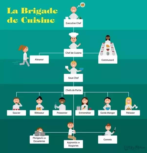 Organization Chart For Kitchen Department: What Is The Kitchen Hierarchy In Top Restaurants?