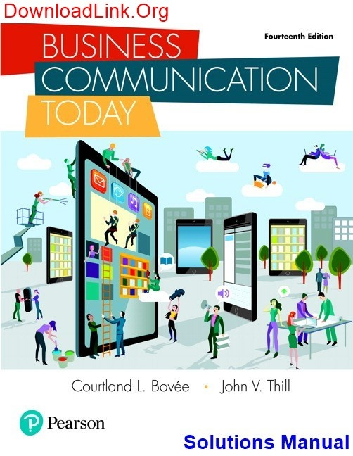 Test bank for business communication essentials 6th edition by.
