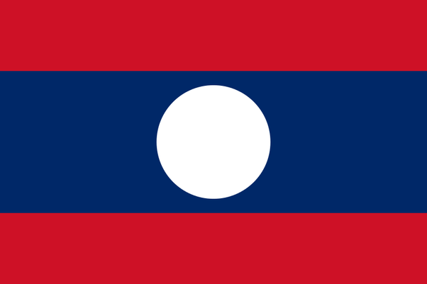 Why Does The Lao Flag Have A White Circle Quora