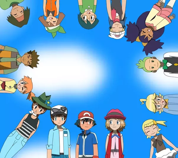 why does misty as well as may leave ash ketchum on the pokémon