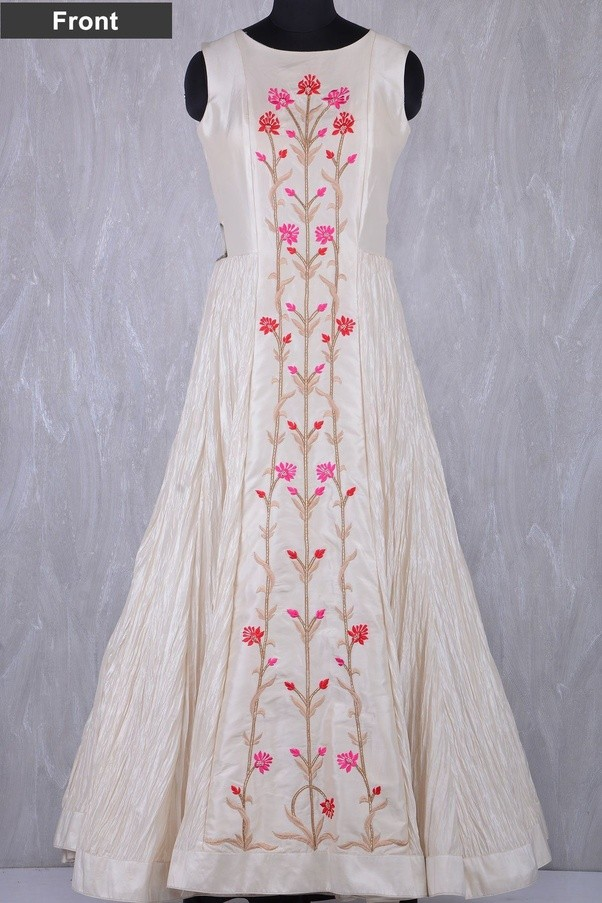 western embroidery gowns