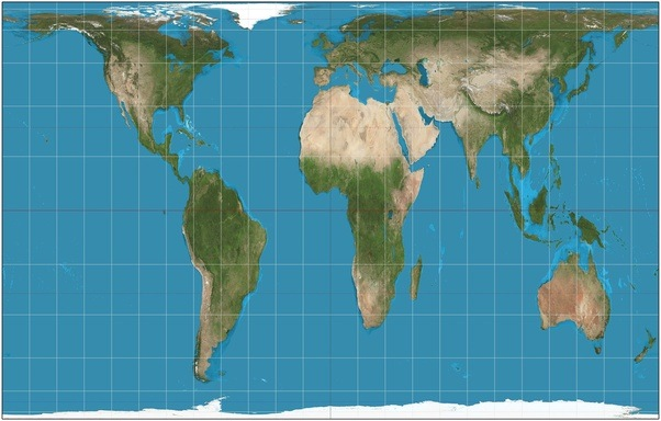 What if the world map was upside down quora one of the examples of area accurate maps that try to remedy this issue is the gall peters gumiabroncs Images