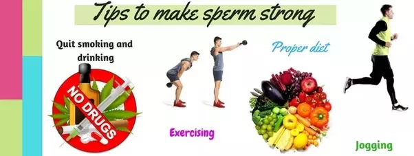 sperm make How thicker to