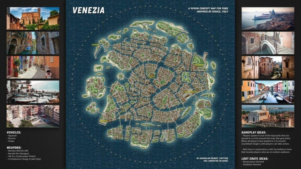 Is Venezia A New Map Of Pubg What Is Its Significance Quora