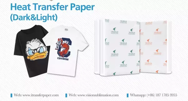 Difference Between Light And Dark Transfer Paper
