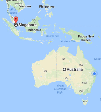 Should australia merge with singapore to become one nation quora singapore is an island at the bottom tip of malaysia it would make more sense to become a part of malaysia 500 metres away over a bridge than australia gumiabroncs Images