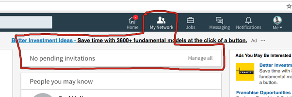 How to undo a request to connect on linkedin quora 2 click on the my network tab at the top of the page that opens this look below which shows your pending invitations stopboris Images
