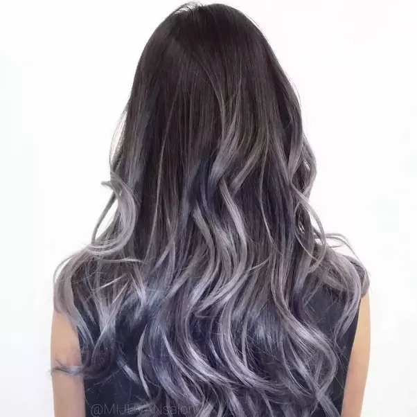 What Colour Should I Dye My Hair So That It Fades To Silver I Was