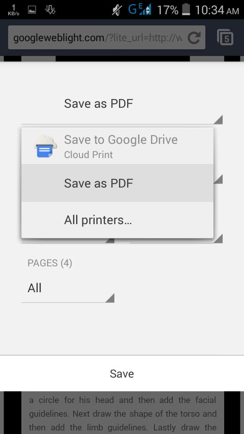 Print Web Page To Pdf Chrome Android Apk