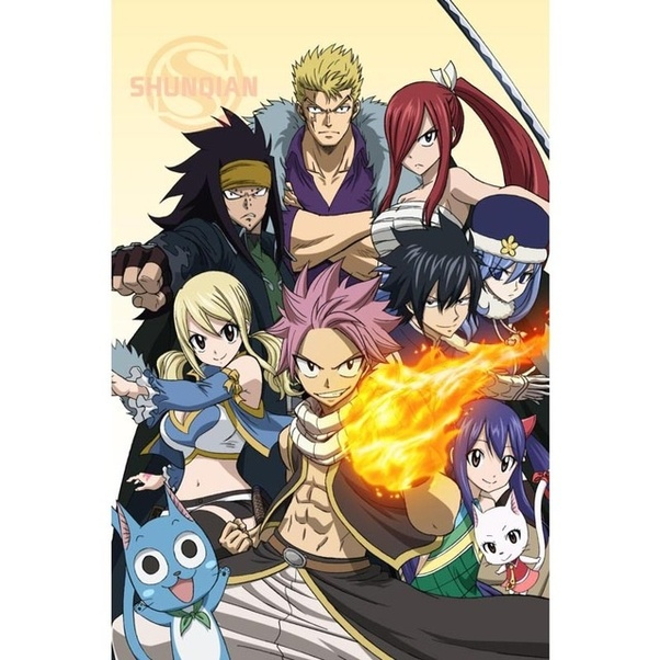 Which Is A Better Anime, Naruto/Naruto Shippuden Or Fairy