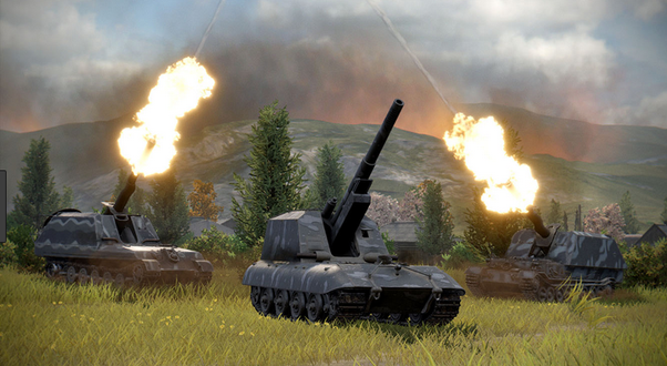 How to use artillery effectively in World of Tanks - Quora