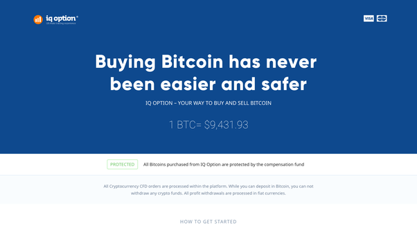 How to buy bitcoin in indonesia quora iq options is one of the leading brokers for binary options they are also very convenient for experienced traders who are looking for a platform to try out ccuart