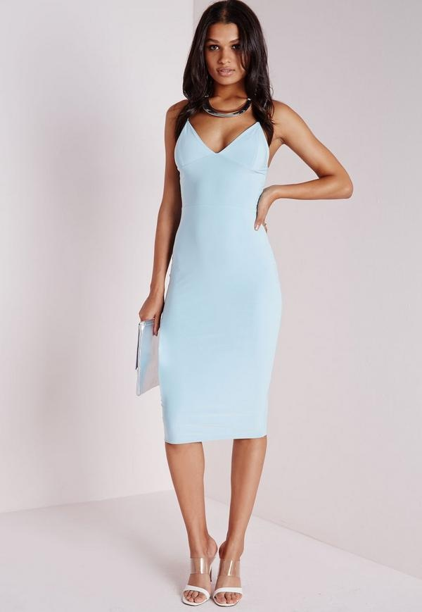 A Baby Blue Dress Is Such Dainty But Lovely Color So You Would Want To Pair It With Neutral For High Heels Wedge Sandals As