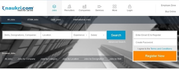Which are Top 10 app for job search in India? - Quora