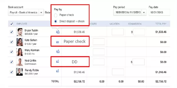 how to create payroll in peachtree