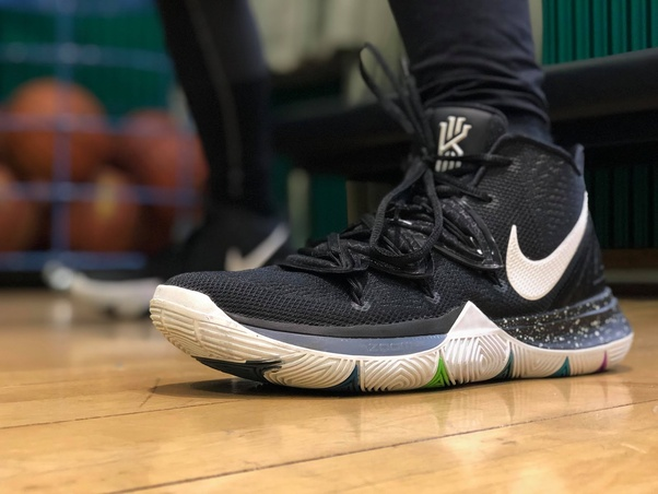 8f667f1a968c ... Kyrie 5 is connected to the whole upper
