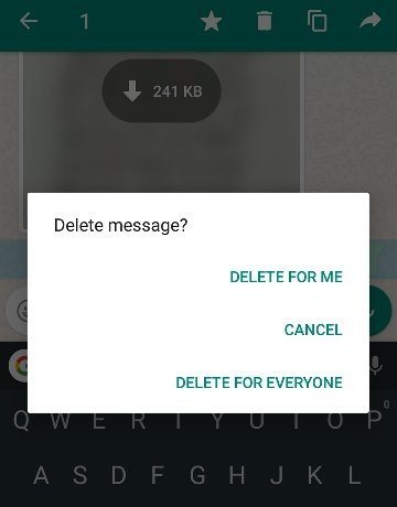 WhatsApp has also extended the time limit for its Delete for Everyone feature