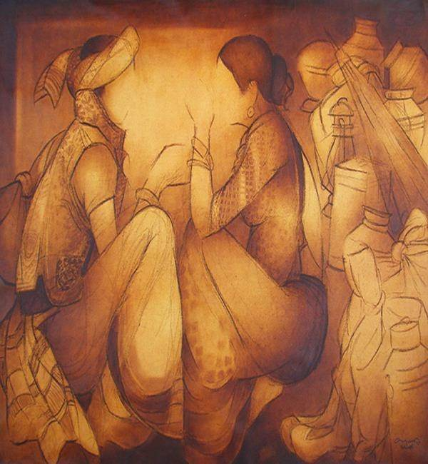 What are the traditional art forms in india quora after the fall of the mughal empire rajput nourished this wonderful form of art in present time it is popularly practiced in rajasthan sciox Images
