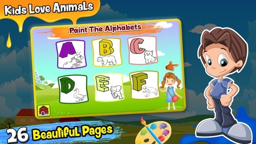 checkout abc coloring pages app for kids its not only drawing app but also help toddlers to learn abc and 123 numbers - Coloring Apps For Kids