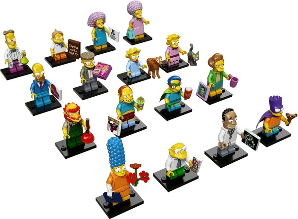 How to make Lego figures of 'The Simpsons' - Quora