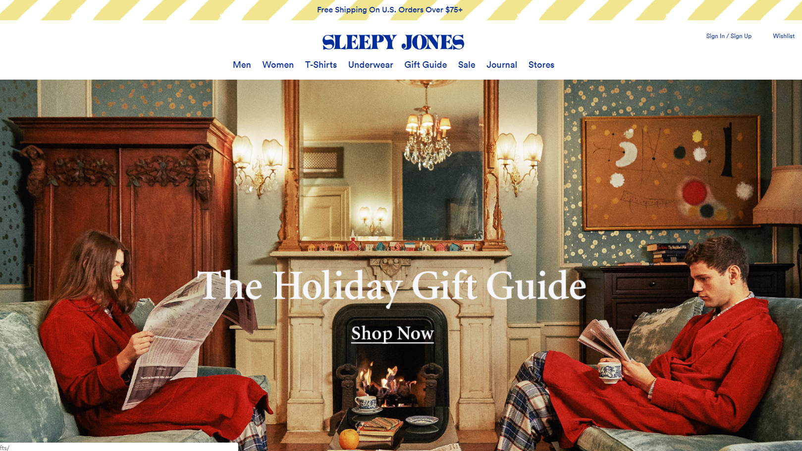 Sleepyjones was established in 2013 mainly to provide sleepwear etc. for  both men and women. 82ae86203