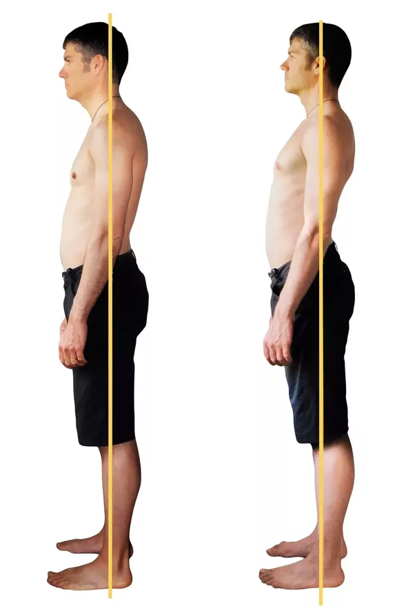 how to get straight back posture